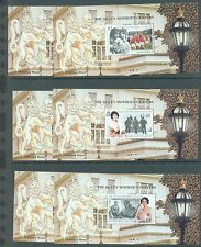 British Commonwealth 1999 Queen Mother  sets of 4 & min sheets for 11 countries