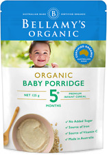 Bellamy's Organic Baby Rice with Prebiotic 5+ 125g x 10