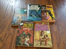 Lot of 5 Keith Laumer paperbacks, The Return of Retief, Star Colony, The Ultimax