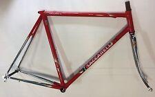 Telaio Bici Acciaio Saccarelli Road Bike steel Frame Columbus 55 Made In Italy