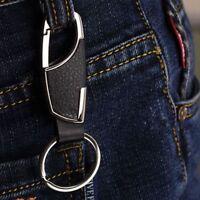 Key Chain Ring Fashion Creative Men's Metal Car Keyring Keychain Keyfob Gift