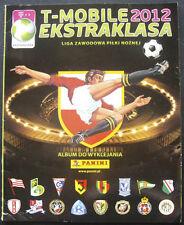 100% COMPLETED PANINI POLAND EKSTRAKLASA 2012 STICKER SET + NEW EMPTY ALBUM