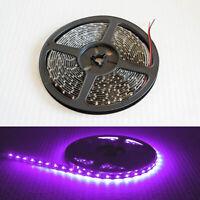 Bright 12V 5M 16.4ft 5050 Waterproof SMD 300 LED Flexible Strip Tape Room Lights