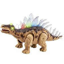 Dinosaur Toy Walking Light Up Sounds Kids Remote Control Gift Learning New