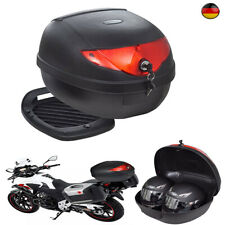 Motorradkoffer Top Case 72 L Motorrad Rollerkoffer Motorradtasche für Doppelhelm