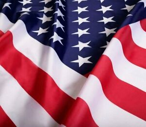 2x3 American Flag w/ Grommets  ~ USA United States of America ~ US Flag