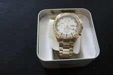 FOSSIL CH3037 SPORT 54 CHRONOGRAPH GOLD TONE ST STEEL DIAL MEN'S WATCH