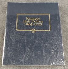 Whitman Classic Kennedy Half Dollars 1964 - 2002 Album # 9127 NEW