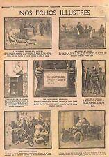 Tirelire Poilus La Poste Armées Lessive Bataille de la Marne Sénégalais WWI 1915