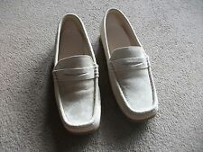 LADIES NEW BEIGE SHOES SIZE 5 BY PRICELESS SUEDE EFFECT-FLAT-LOVELY SHOES
