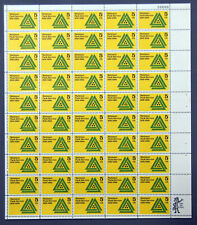 """US Stamps 1966 Full Mint Sheet 5 cents """"National Park Service"""" Aug 25th MNH"""