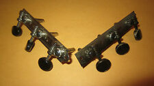 Vintage 1930's 1940's Gibson Open Back Guitar Tuners Black Buttons for J-35 J-45