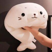 Seal Plush Stuffed Animal Pillow Sea Dog Cute Kawaii Christmas Gift For Baby