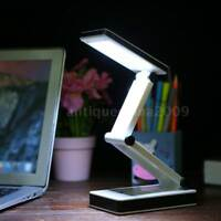 Folding USB 24 LED Table Lamp Desk Light Touch Control 3 Levels Brightness J3D0