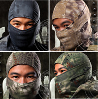 Balaclava Face Mask Camouflage Ninja Airsoft hunting Paintball Head mask