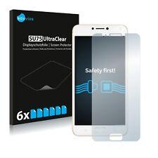 6x Film Protection écran pour Asus ZenFone 4 Max ZC520KL Protecteur