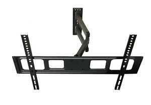 FULL MOTION TV WALL MOUNT TILT SWIVEL LCD LED 37 42 46 47 50 55 60 65 70