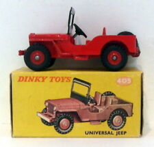 Voitures, camions et fourgons miniatures Dinky pour Jeep