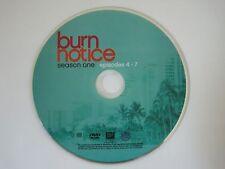 Burn Notice Season 1 Replacement Disc: 2 Episodes 4-7 Excellent Condition