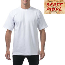 PRO CLUB PROCLUB MENS HEAVY WEIGHT CASUAL PLAIN T SHIRT SHORT SLEEVE SHIRTS