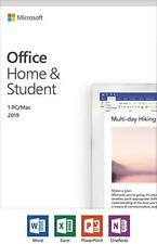 Microsoft Office Home and Student 2019 1 Device PC Windows 10 or Mac + FAST SHIP