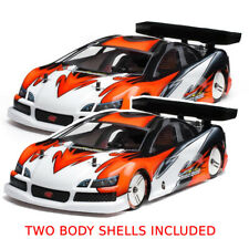 HB RACING Moore-Speed 200R Clear Body (200mm Nitro Touring) x2