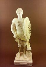 Alexander the Great Alabaster patina aged sculpture Statue artifact