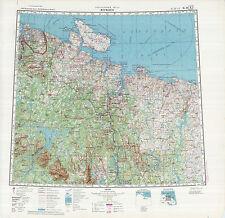 Russian Soviet Military Topographic Maps - MURMANSK (Russia) 1:500 000, ed.1974