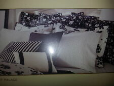 New Ralph Lauren 2 European Shams- Port Palace Floral Black