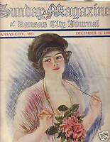 1910 Sunday Magazine December 11 - Earl Christy art