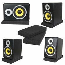 1Set Sponge Pads Soundproof Studio Monitor Speaker Acoustic Isolation Foam Part