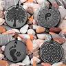 Shungite engraved pendants made of real rare stone, Tolvu