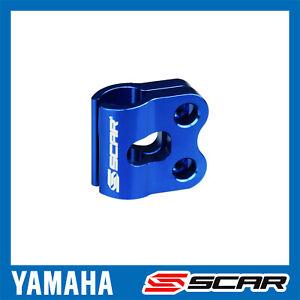GUIDE FIXATION DURITE CABLE FREIN YAMAHA YZ YZF YZFX 65 85 125 250 450 BLEU SCAR