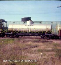 ORIGINAL SLIDE UNITED STATES ARMY USAX 11952 TANK CAR TOLEDO OH 1968