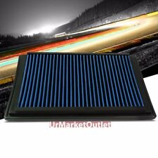 Blue High Flow Washable/Reusable Drop-In Panel Air Filter For 04-08 F-150 5.4L