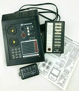 X-10 PowerHouse PS561 Voice Dialer Wireless Security Console  w/ Manual
