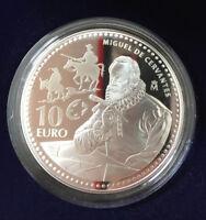 Silber Gedenkmünze 2013 Europäische Schriftsteller - Miguel de Cervantes