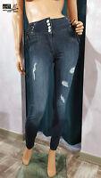 Denny Rose jeans jeggings vita alta art. 811SJ26012 collezione p.e. 2018