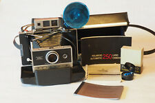 Polaroid Automatic 250 Land Camera Tested and Working w/Flash, Manual, Case...