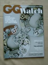 GQ BRITISH / WATCH 2013 / YOUR ESSENTIAL GUIDE TO THE WORLD OF WATCHES