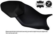 DESIGN 3 BLACK STITCH CUSTOM FITS BMW S 1000 XR 15-16 DUAL LEATHER SEAT COVER