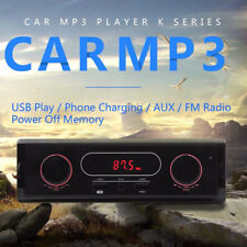 12V Car In-Dash Audio Radio Stereo Bluetooth FM Aux In Receiver USB MP3 Player