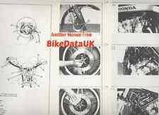 Honda CB900F Super-Sport 80-en Distribuidores puesta en marcha Manual CB 900 F-A