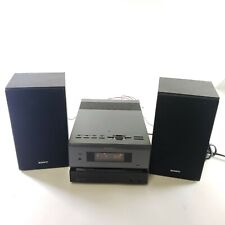 New listing Sony Cmt-Bx1 Micro Stereo Receiver Cd/Mp3/Aux Player - Tested, Working