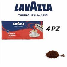 4 Kg Caffè LAVAZZA Macinato Crema E Gusto - 4 Confezioni Quadripack Da 1000 GR