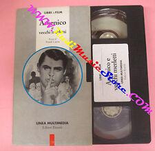 VHS film ARSENICO E VECCHI MERLETTI Frank Capra PROMO RIUNITI (F97) no dvd