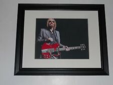 "Large Framed Tom Petty & Guitar 2017 40th Anny Tour Print Poster 24"" by 20"" #1"