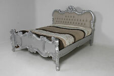 Antique Style Bed Frames & Divan Bases with Headboard
