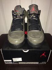 Nike Air Jordan 5 V Retro Fear Pack Sequoia Olive Sz 9.5