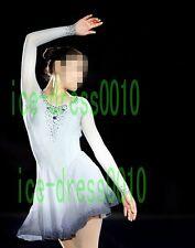 2018 new style Figure Skating Ice Skating Dress Gymnastics Costume 8923